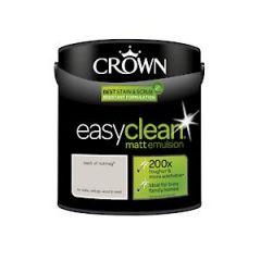 Crown Easyclean Matt Emulsion Dash Nutmg 2.5L