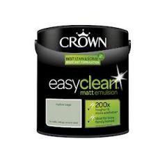 Crown Easyclean Matt Emulsion Mellow Sage 2.5Litre