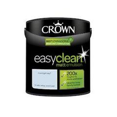 Crown Easyclean Matt Emulsion Moonlight Bay 2.5Litre