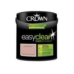 Crown Easyclean Matt Emulsion  Powdered Clay