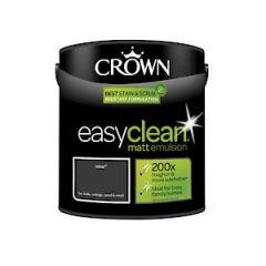Crown Easyclean Matt Emulsion Rebel 2.5Litre
