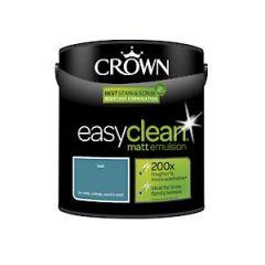 Crown Easyclean Matt Emulsion Teal