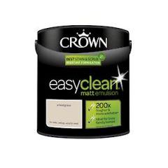 Crown Easyclean Matt Emulsion Wheatgrass 2.5L