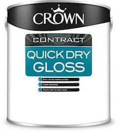 Crown Quick Dry Gloss Brilliant White 2.5L