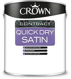 Crown Quick Dry Satin Brilliant White 2.5L