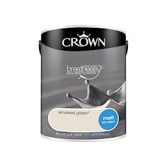 Crownr Matt Emulsion        Smkd Glass 5L
