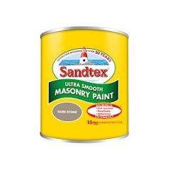 Sandtex Microseal Smooth Masonry Dark Stone 150Ml