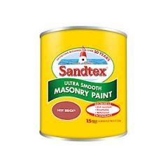 Sandtex Microseal Smooth Masonry - 150Ml - Hot Brick