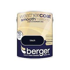 Berger Weathercoat Smooth - 5L - Black