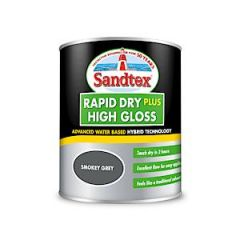 Sandtex Rapid Dry Gloss Smoky Grey 750Ml