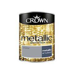 Crown Metallics Pewter 1.25L