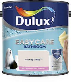 Du E/Care Bath S/Sheen Nutmeg White 2.5L