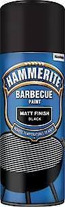 HAMM BBQ Paint MATT BLK AERO 400ML