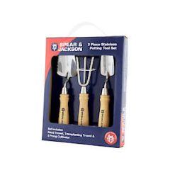 Stainless 3 Piece Mini Hand Tool Set