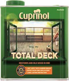 Cx Total Deck Clear 2.5L