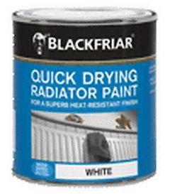 B/F Quick Drying Radiator Paint White - 250Ml