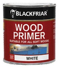 B/F Wood Primer White - 250Ml