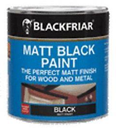 B/F Matt Black Paint - 250Ml