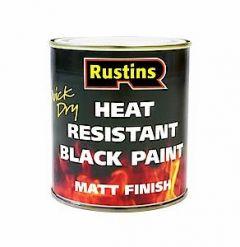 Heat Resistant Black Paint 500Ml