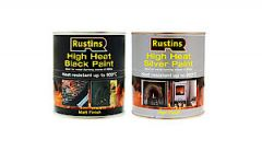 High Heat Black Paint 250Ml