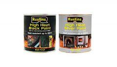High Heat Black Paint 500Ml