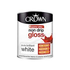 Crown Non Drip Gloss - 750Ml - Pbw