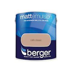 Berger Matt Emulsion - 2.5L - Cafe Clssc