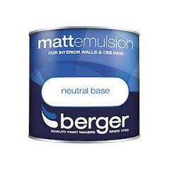 Berger Matt Emulsion Base - 250Ml - Neutral