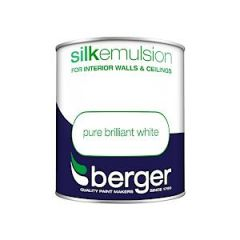 Berger Silk Emulsion - 1L - Bril White