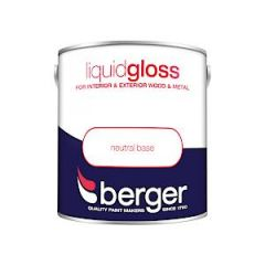 Berger Liquid Gloss Neutrl Base 2.5L