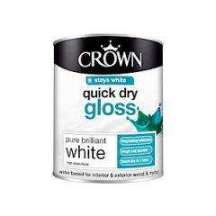 Crown Quick Dry Gloss - 750Ml - Pbw