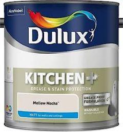 Dulux Easycare Kitchen & Bathroom Matt Pure Brilliant White 2.5L