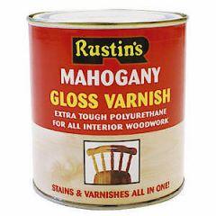 Poly Varnish Gloss Mahogany 250Ml