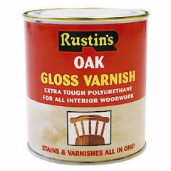 Poly Varnish Gloss Oak 250Ml