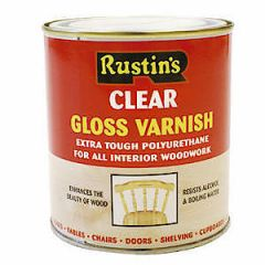 Poly Varnish Gloss Clear 500Ml