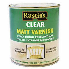 Poly Varnish Matt Clear 500Ml