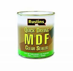Rustins Quick Dry Mdf Sealer 250Ml