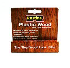 Rustins Plastic Wood Teak Tube