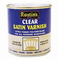 Poly Varnish Satin Clear 250Ml