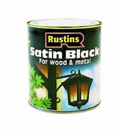 Satin Black 500Ml