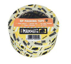 Retail/Labelled Mask Tape 25Mm X 50Mtr