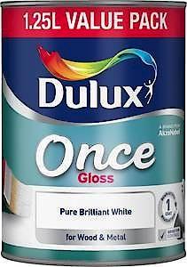 Du Once Gloss Pure Brilliant White 750Ml