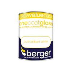 Berger One Coat Gloss Bw 1.25L