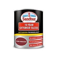 Sandtex Ext Gloss Class Burg 750Ml