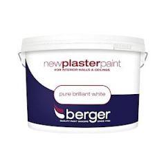 Berger Plaster Paint Pure Brilliant White 10L