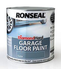 Dia Hard Garage Flr Paint Sblu 2.5L