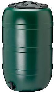 210Lt Water Butt & Lid Gn325