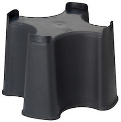 Slimline Waterbutt Stand (For 100L; Oakwood; Beehive)
