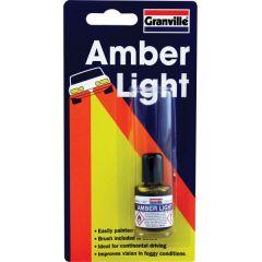 Headlight Lacquer Amber 9Ml
