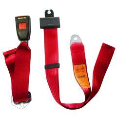Seat Belt Static Lap Red